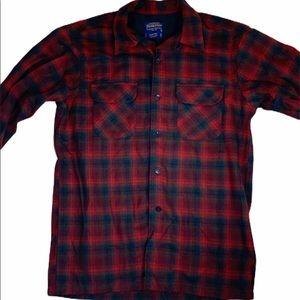 Pendleton Board Shirt 100% Virgin Wool Flannel